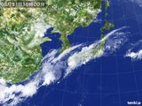 2015年08月31日の気象衛星