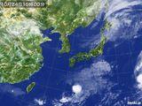 2015年10月24日の気象衛星