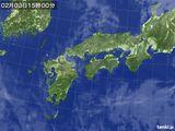 気象衛星(2016年02月03日)