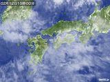 気象衛星(2016年02月12日)