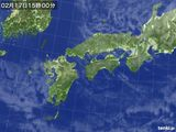 気象衛星(2016年02月17日)