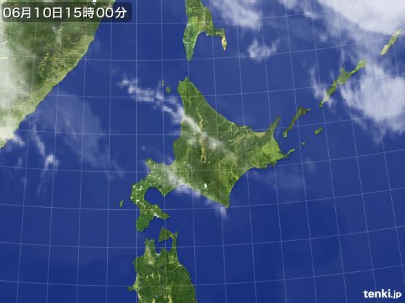 実況天気図(2016年06月10日)