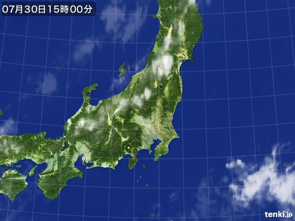 実況天気図(2016年07月30日)