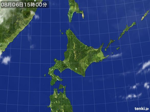 実況天気図(2016年08月06日)