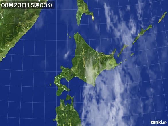 実況天気図(2016年08月23日)