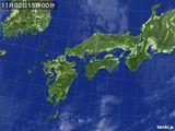 気象衛星(2016年11月02日)