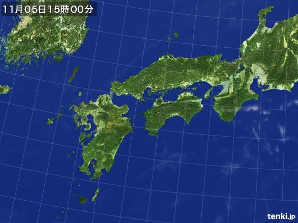 実況天気図(2016年11月05日)