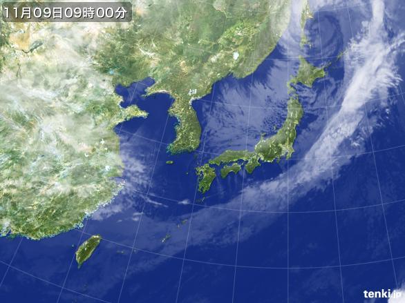 https://storage.tenki.jp/archive/satellite/2016/11/09/09/00/00/japan-near-large.jpg