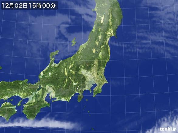 実況天気図(2016年12月02日)