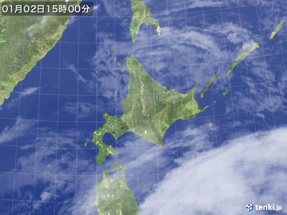 実況天気図(2017年01月02日)