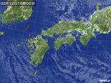 気象衛星(2017年02月12日)