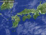 気象衛星(2017年02月27日)
