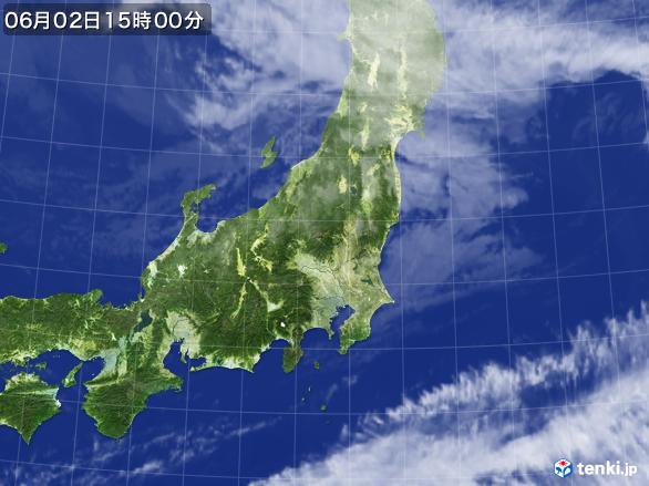 実況天気図(2017年06月02日)