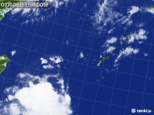 実況天気図(2017年07月06日)