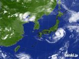 2018年08月08日の気象衛星