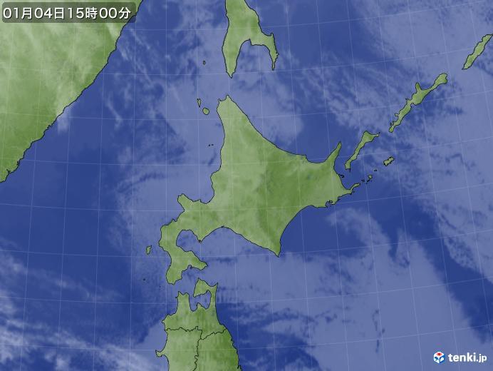 実況天気図(2019年01月04日)