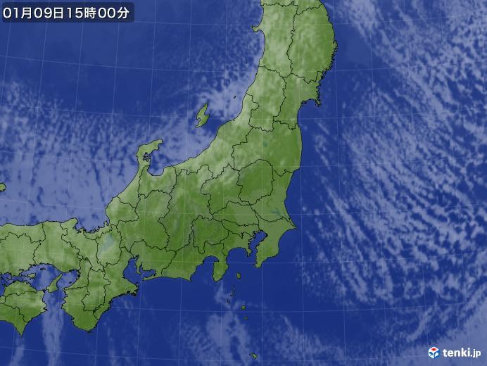 実況天気図(2019年01月09日)