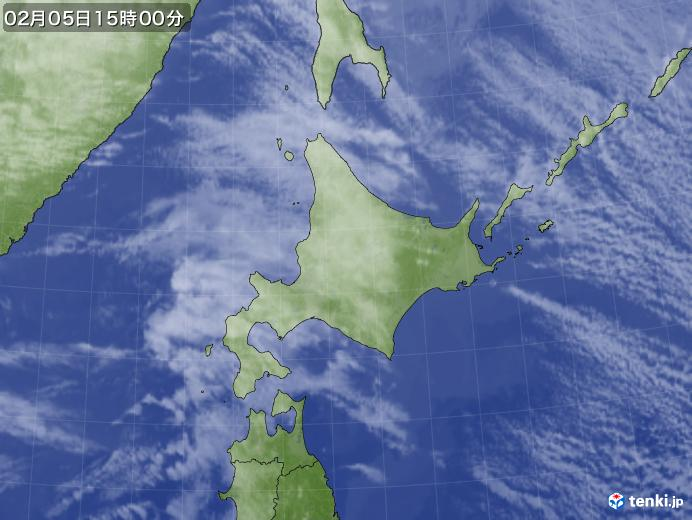 実況天気図(2019年02月05日)