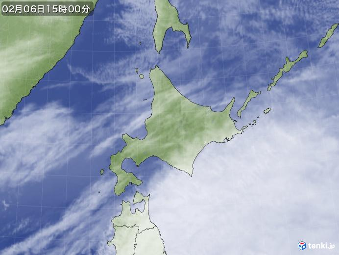 実況天気図(2019年02月06日)