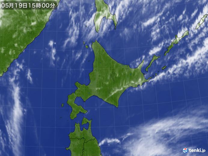 実況天気図(2019年05月19日)