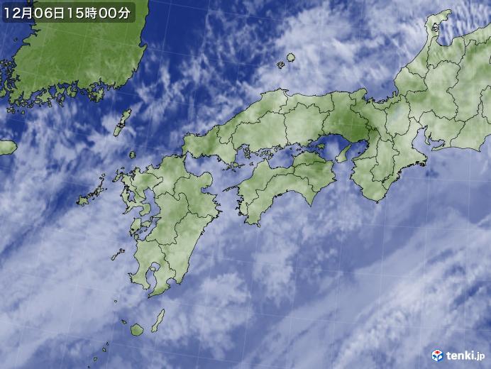 実況天気図(2019年12月06日)