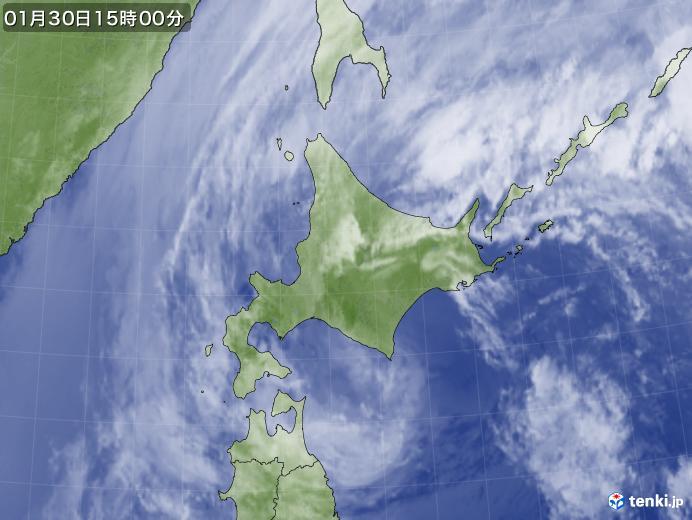 実況天気図(2020年01月30日)