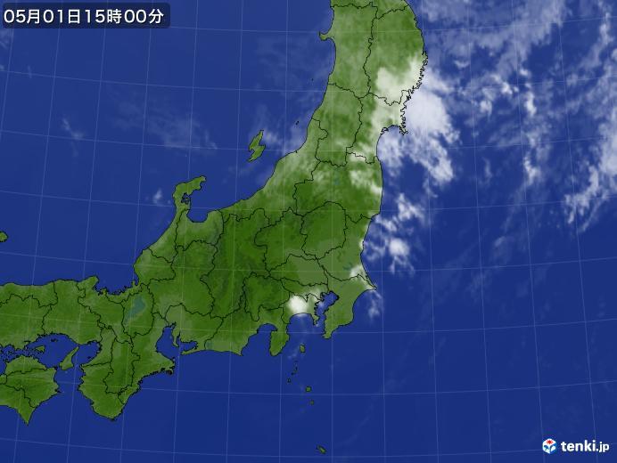 実況天気図(2020年05月01日)