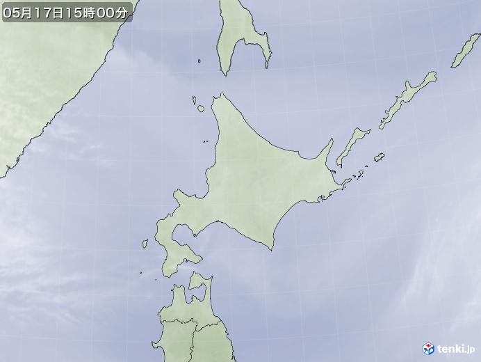 実況天気図(2020年05月17日)