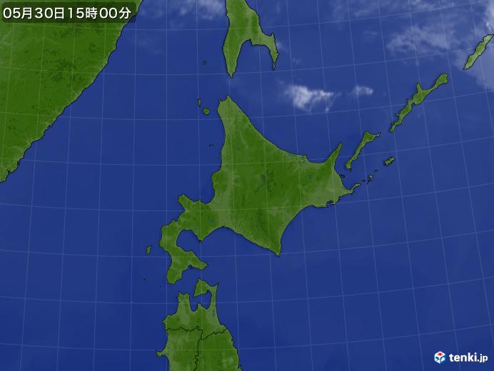 実況天気図(2020年05月30日)