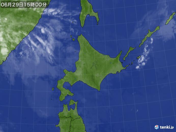 実況天気図(2020年06月29日)