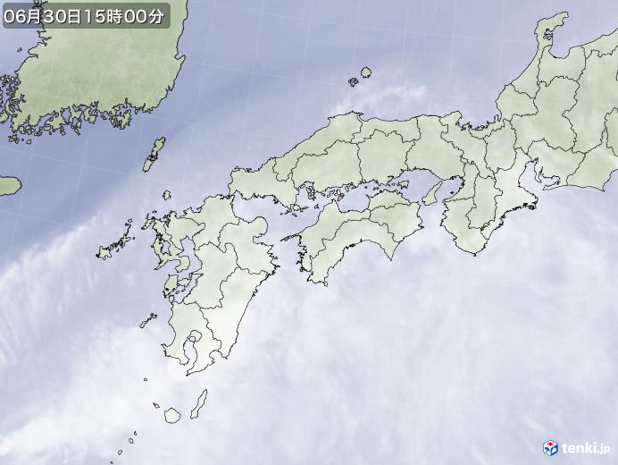実況天気図(2020年06月30日)