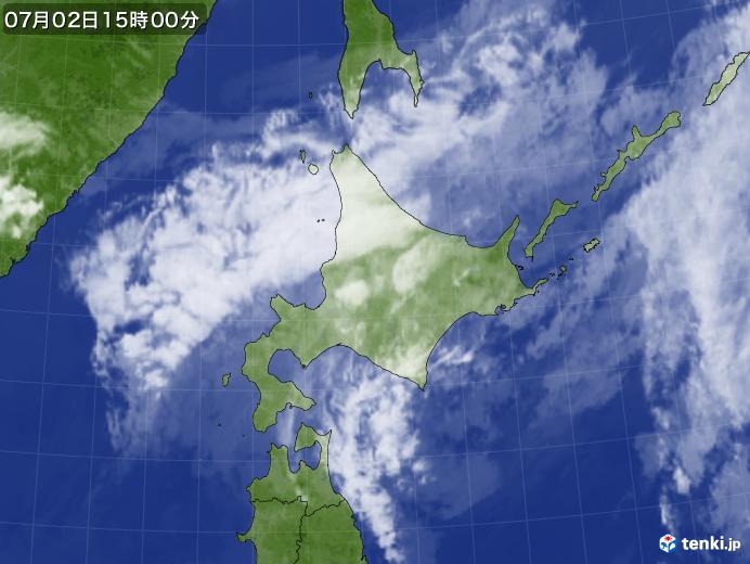 実況天気図(2020年07月02日)