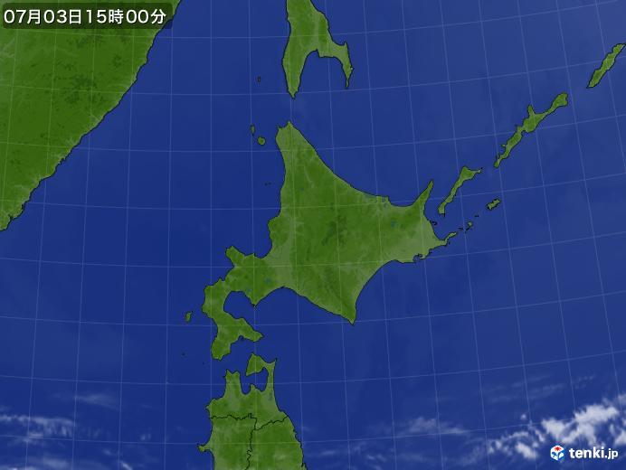 実況天気図(2020年07月03日)