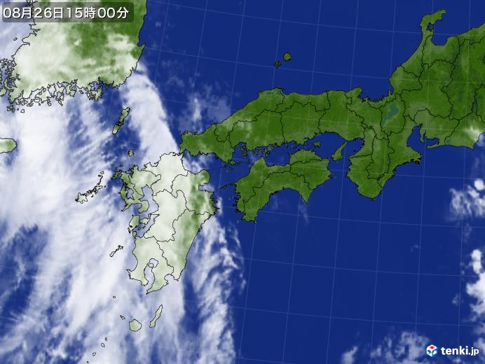 実況天気図(2020年08月26日)