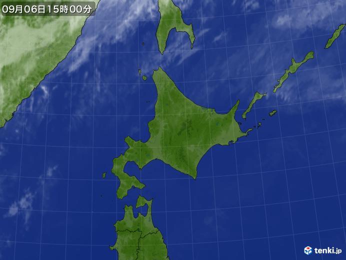 実況天気図(2020年09月06日)