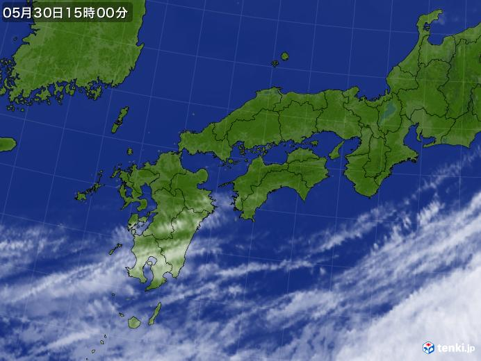 実況天気図(2021年05月30日)