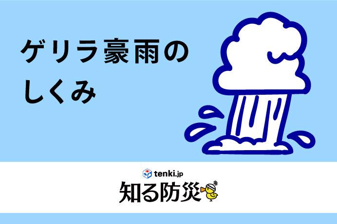 ゲリラ豪雨のしくみ(知る防災)