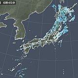 5日 前線通過後は西から天気回復へ 北日本は風が強まる