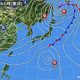 6日 広く晴れるが北海道は雨の所も 台風14号はゆっくり北上