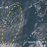 渦状の雲「カルマン渦」出現!