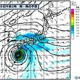 台風14号と秋雨前線 広範囲で 影響が長引く恐れ
