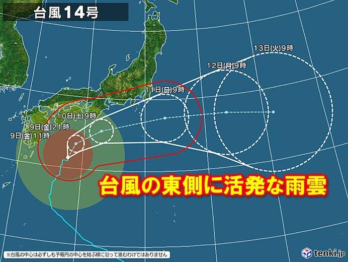 2020 台風 14 号 2020年の台風