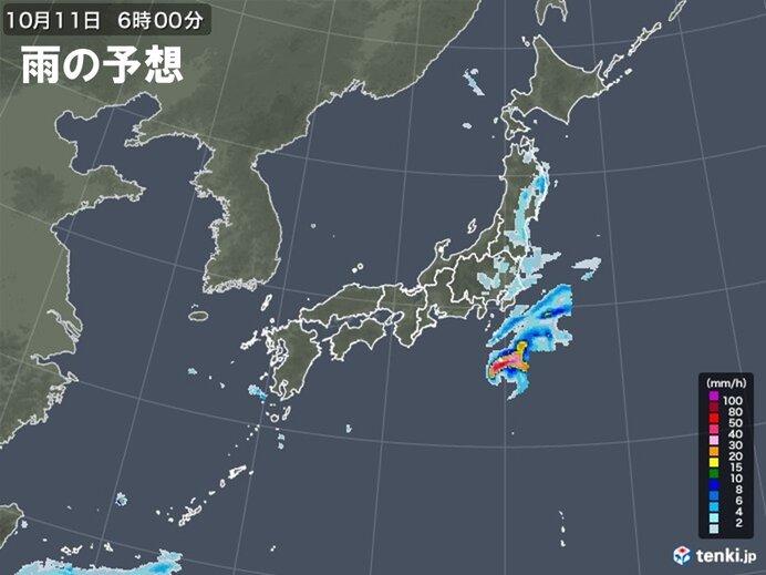 台風は次第に南にUターン・・・伊豆諸島は厳重警戒