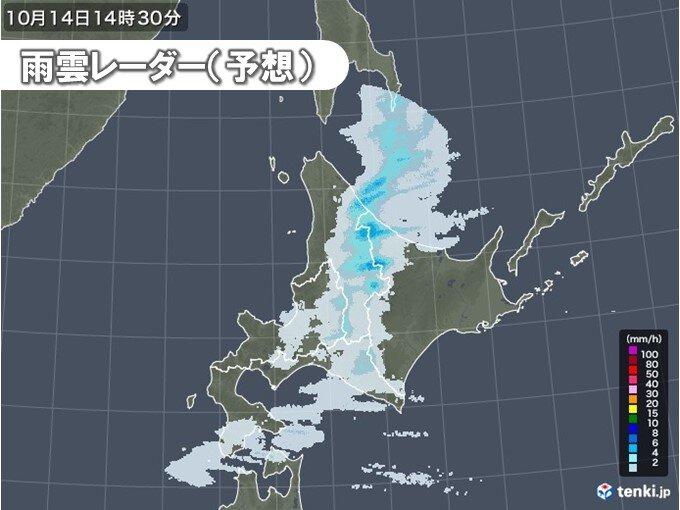 夕方にかけて前線通過し気温急降下 山間部中心に雪の可能性も