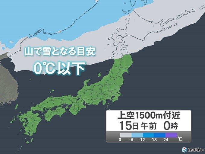 北海道 前線通過で局地的に雨や雷雨 山では雪の可能性も_画像