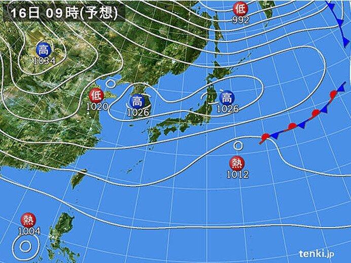 あす 北日本で冬日急増 天気は下り坂