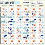 週間 ひと雨ごとに冷えてくる あす北日本は冬日地点が急増