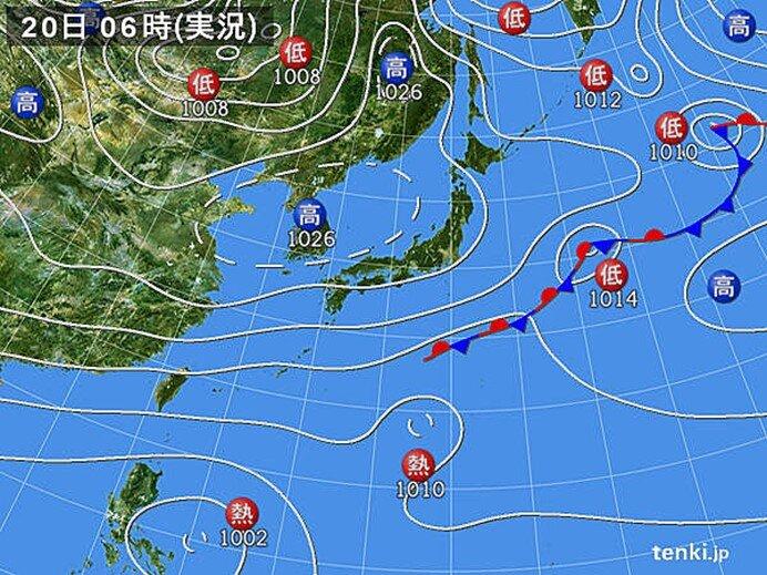 東京や名古屋で今シーズン一番の冷え込み