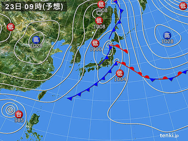 関東 天気はゆっくり下り坂 金曜日は雨具の手放せない一日に