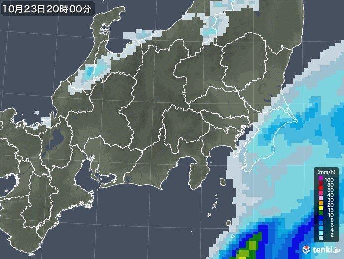雨は夜には止む所が多い ただ千葉県では降りやすい状態続く
